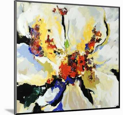 "Floral Play - 24"" x 24"" - Wood Mount - art.com"