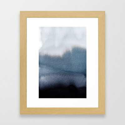 In Blue Framed Art Print - Society6