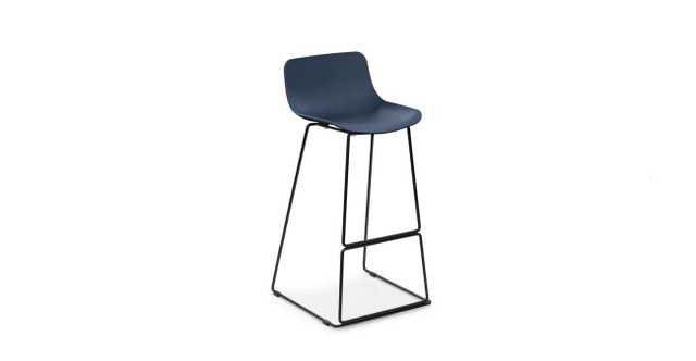 Anco Baya Blue Bar Stool - Article
