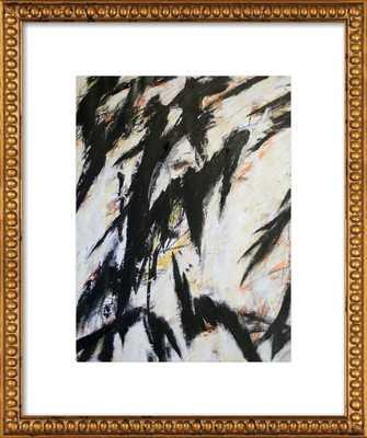 "3-18-12a by Kurt Waldo with Ornate Gold Crackle Bead Wood Frame - 16""x20"" - Artfully Walls"