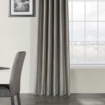 Sagunto Solid Room Darkening Drapes - Silver - Wayfair
