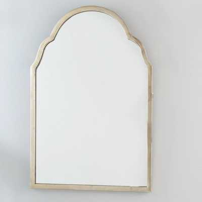 SILVER ARCHED FRAME MIRROR - Shades of Light