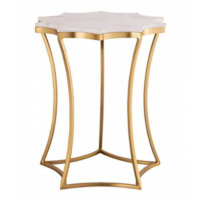 Camilla Marble Side Table - Maren Home
