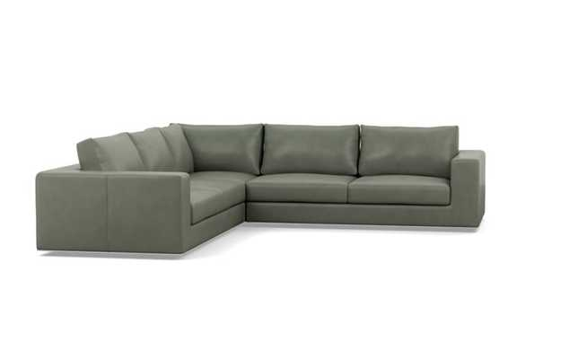 WALTERS LEATHER Leather Corner Sectional Sofa - Interior Define