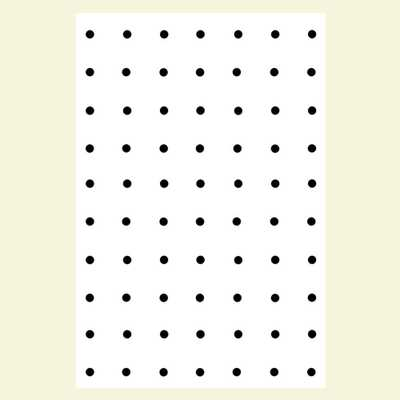 3/16 in. x 4 ft. x 8 ft. Ash Pegboard White Panel - Home Depot