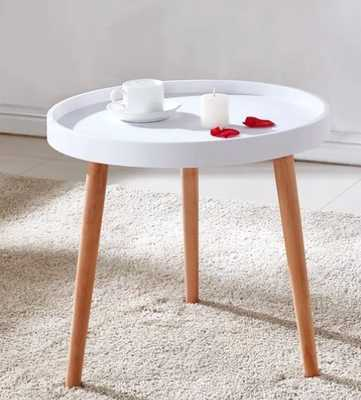 Jude Mini Coffee Table, white - Wayfair