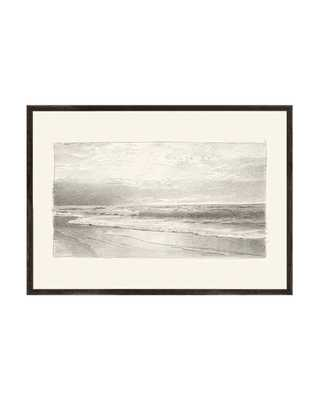 BEACH SKETCH FRAMED ART - McGee & Co.