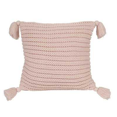 Dorcheer Ribbed Knit Throw Pillow Cover - Wayfair