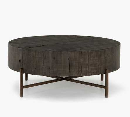 Fargo Reclaimed Wood Coffee Table, Distressed Gray - Pottery Barn