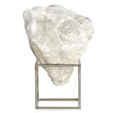 Selenite Cloud On Stand - Z Gallerie