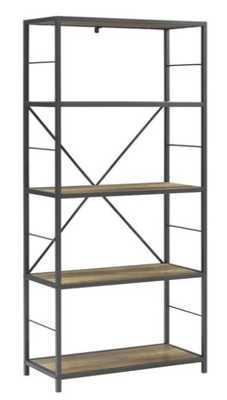 Macon Etagere Bookcase - Rustic Oak - AllModern
