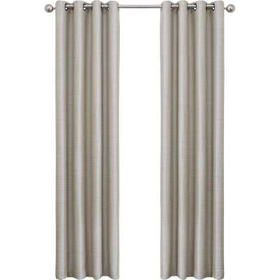 Vaughn Solid Blackout Grommet Single Curtain Panel - AllModern