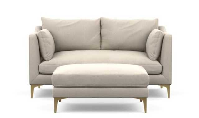 """CAITLIN BY THE EVERYGIRL 71"""" (BENCH CUSHION) WITH OTTOMAN 45"""" - Interior Define"""