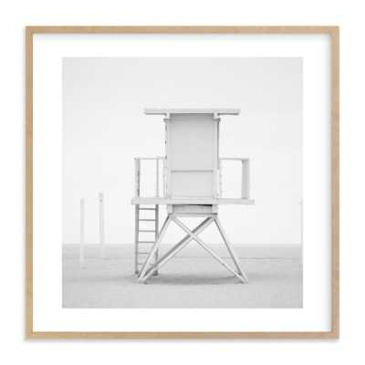"""Iconic Lifeguard Tower -  30"""" x 30"""" - Minted"""