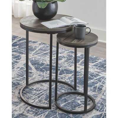 Swift 2 Piece Nesting Tables - Wayfair