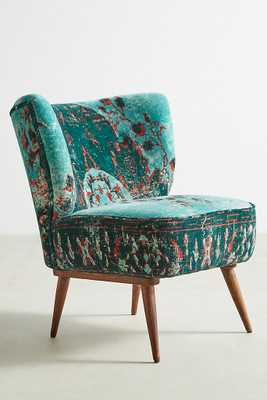 Dhurrie Petite Accent Chair - Anthropologie