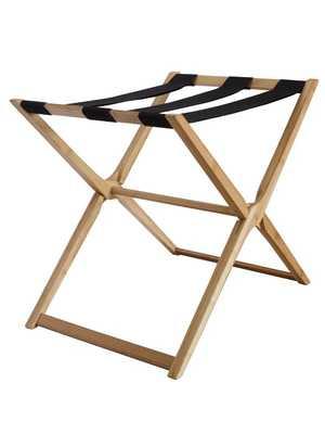 Modern Bamboo Luggage Rack - Wayfair