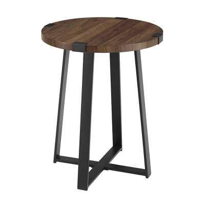 Enrique Cross Legs End Table - Wayfair