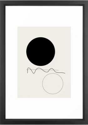 Abstract 07 Framed Art Print - Society6