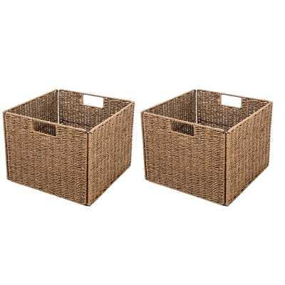 Foldable Storage Basket (Set of 2) - Wayfair