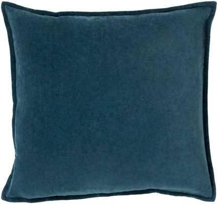 Bradford Smooth 100% Cotton Velvet Throw Pillow - Wayfair