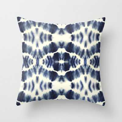 """BOHEMIAN INDIGO BLUE Outdoor Pillow, 20"""" Indoor - Society6"""