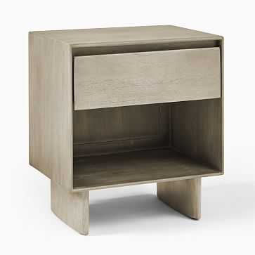 Anton Storage Nighstand, Sumitra Gray, Individual - West Elm