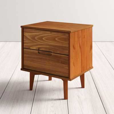 Isabelle 2 Drawer Nightstand - Wayfair