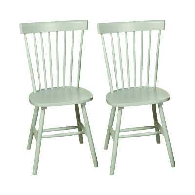Roudebush Solid Wood Dining Chair, set of 2 - Wayfair