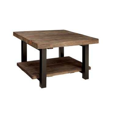 "Veropeso 27"" Reclaimed Coffee Table - Wayfair"