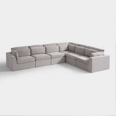 Emmett 6 Piece Modular Sectional Sofa - World Market/Cost Plus
