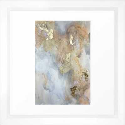 """Reef Framed Art Print White Frame 12""""x12"""" - Society6"""
