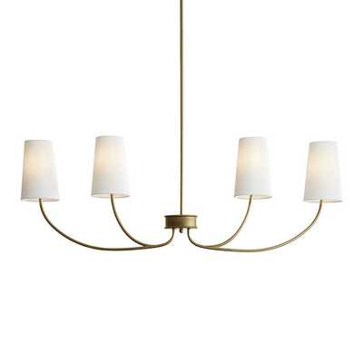 Lottie Linear Chandelier   - Ballard Designs - Ballard Designs