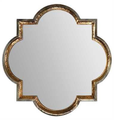 Lourosa Quatrefoil Mirror - Hudsonhill Foundry