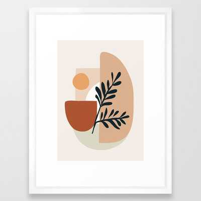 "Geometric Shapes Framed Art Print 20"" x 26"" - Society6"