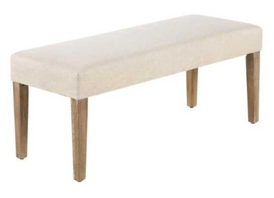Gibson Upholstered Dining Bench - World Market/Cost Plus