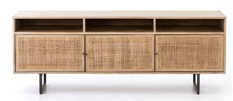 HANNAH MEDIA CONSOLE, NATURAL - Lulu and Georgia