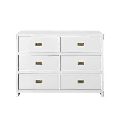 Benbrook 6 Drawer Double Dresser - AllModern