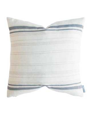 FRENCH STRIPE PILLOW WITHOUT INSERT, 22x22 - McGee & Co.