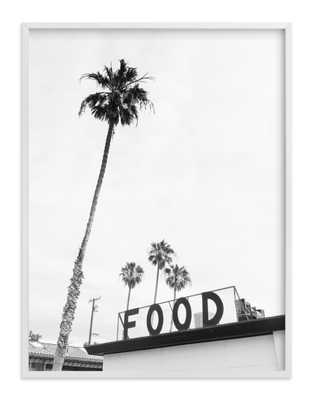 "Zuma Beach Malibu No. 7 - 30"" x 40"" - white wood frame - Minted"