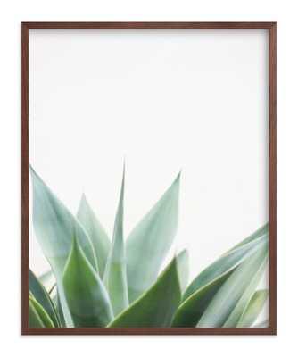 "Balboa Park, 16""x20"", Walnut Wood Frame - Minted"
