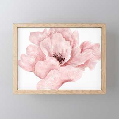 Flower :;) Framed Mini Art Print - Society6