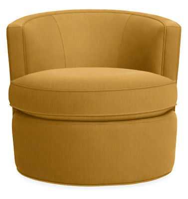 Otis Swivel Chair - Katz gold - Room & Board