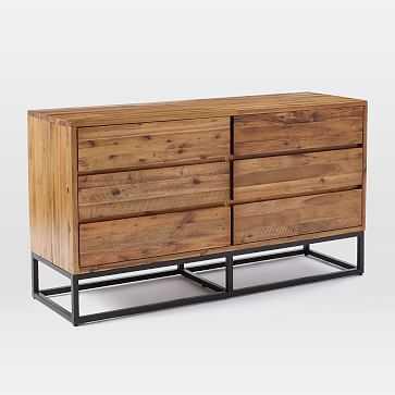 Logan 6-Drawer Dresser, Natural - West Elm