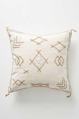 Joanna Gaines for Anthropologie Embroidered Sadie Pillow - Anthropologie