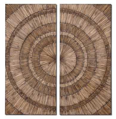 Lanciano Wood Wall Art - Hudsonhill Foundry