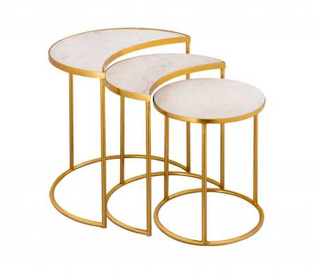 Crescent Nesting Tables - Maren Home