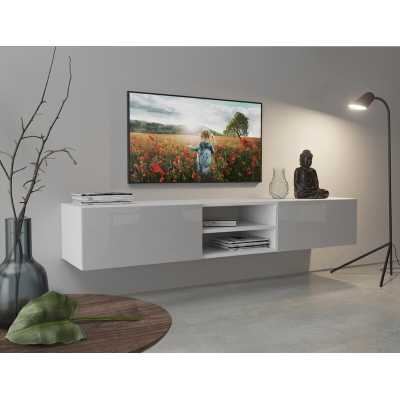 """Naccarato Floating TV Stand for TVs up to 85"""" - Wayfair"""