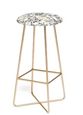 GOLD SPECKLED TERRAZZO Bar Stool - Wander Print Co.