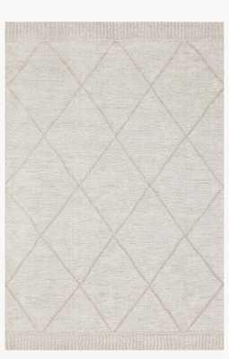 """SON-03 ED Grey / Silver, 7'10"""" x 10'10"""" - Loma Threads"""